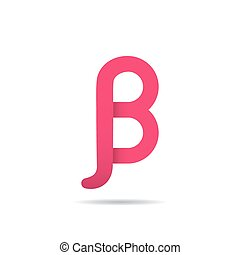 Beta letter icon