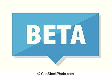 beta price tag