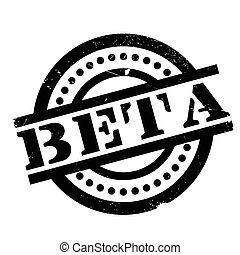 Beta rubber stamp