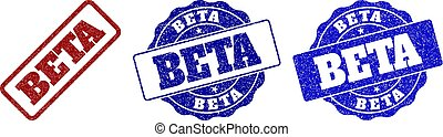 BETA Scratched Stamp Seals
