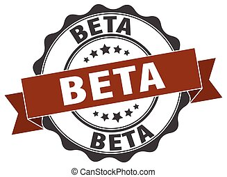 beta stamp. sign. seal