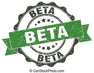 beta stamp. sign. seal