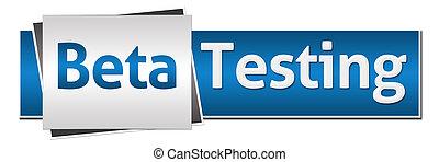Beta Testing Blue Grey Horizontal