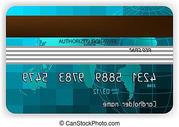 betaalkaarten, back, overzicht., eps, 8