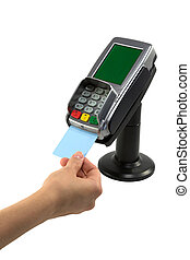 betalare, kreditkort