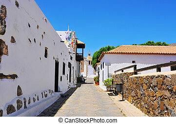 Betancuria in Fuerteventura, Canary Islands, Spain