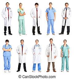 betegápolók, orvosok