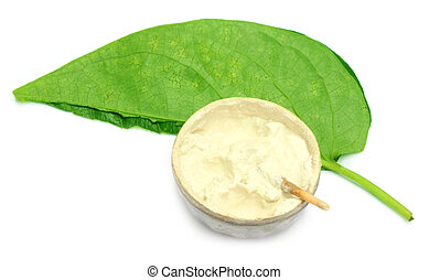 Betel leaf with lime