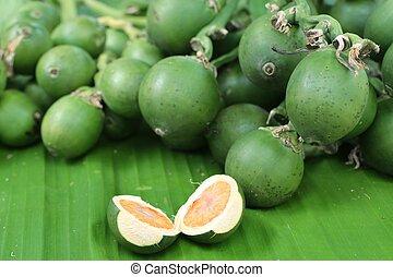 betel nut on street