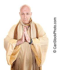 beten, heiliger mann