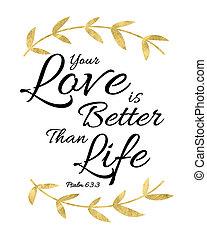 beter, leven, liefde, dan, jouw