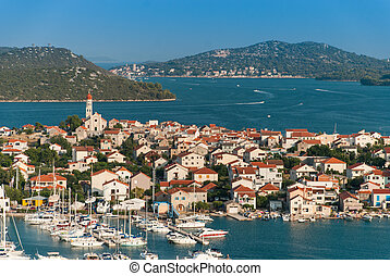 Photo of Betina city, Murter Island, Croatia