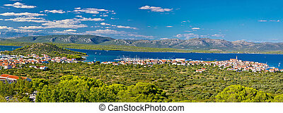 Betina village on the hill by the sea, Island of Murter, Croatia