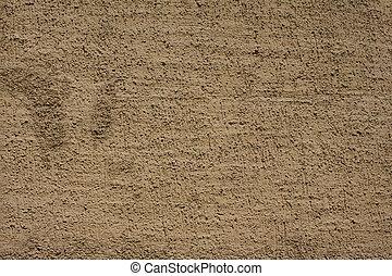 beton, beige, wand, texture.