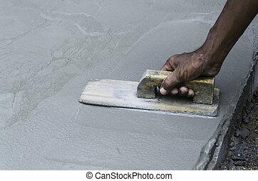 beton, bevakol