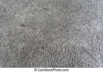 beton, gebarsten, texture., vloer