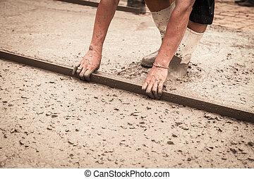 beton, gieten