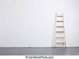 beton, ladder, vloer