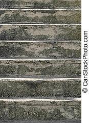 beton, stappen