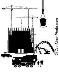 beton, szerkesztés