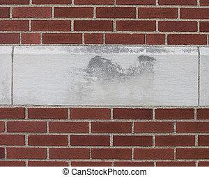 beton- tégla, restaurálás, kilép, szállító