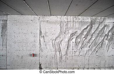 beton, wal