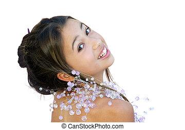 betoverend, aziatisch meisje