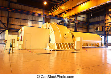 betreiben generator, dampf, turbine