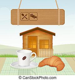 Bett Fruhstuck Clip Art Und Stock Illustrationen 2 915 Bett