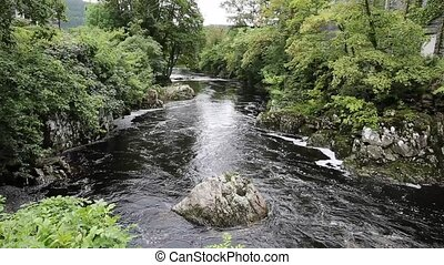 Betws-y-Coed Wales UK river - Betws-y-Coed Wales UK...