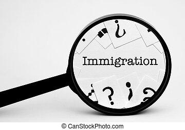 bevándorlás