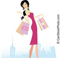 bevásárlás, csillag