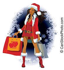 bevásárlás, karácsony
