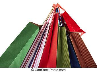 bevásárlószatyor, fogyasztás, kiskereskedelem