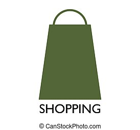 bevásárlószatyor, ikon