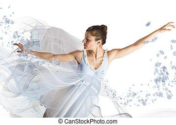 bevallig, ballerina