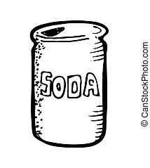 bevanda può, soda