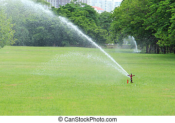bevattna sprinkleren