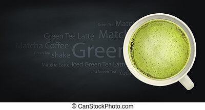 beverage background - beverage coffee and tea background