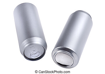 beverage can isolated