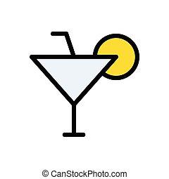 beverage  flat color icon