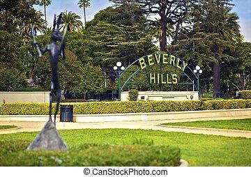 beverly, 加利福尼亞, 小山