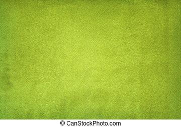 bevlekte, papier, groene achtergrond
