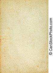 bevlekte, papier, oud, achtergrond