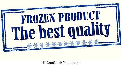 bevroren, product, kwaliteit, best