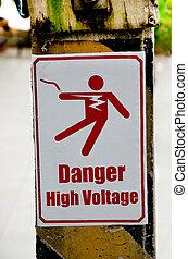 Beware of electric shock