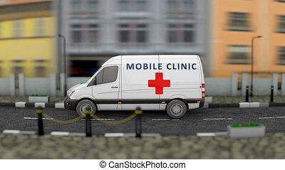 beweeglijk, kliniek, gezondheid