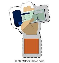 beweeglijk, ontwerp, betalingen