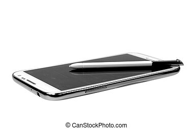 beweeglijk, witte , tablet