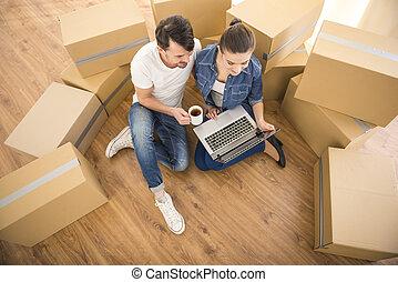 bewegenden heim